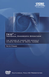 TEO®  Transanal Endoscopic Operations - The method of choice for minimally invasive removal of rectal tumors