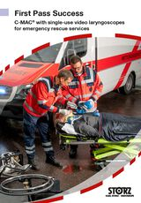 First Pass Success – C-MAC® with single-use video laryngoscopes for emergency rescue services