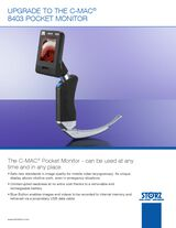 Upgrade to the C-MAC® 8403 Pocket Monitor