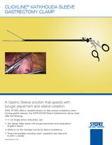 CLICKLINE® KATKHOUDA Sleeve Gastrectomy Clamp