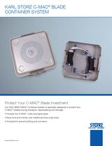 KARL STORZ C-MAC® BLADE Container System