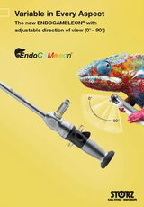 Variable in Every Aspect – The new ENDOCAMELEON® with adjustable direction of view (0° – 90°)