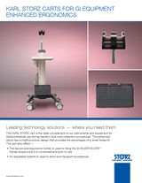 KARL STORZ Carts for GI Equipment Enhanced Ergonomics