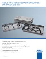 KARL STORZ Video Mediastionscopy Set Container System