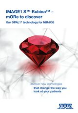 IMAGE1 S™ Rubina™ – mORe to discover – Our OPAL1® technology for NIR/ICG