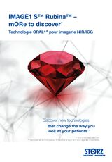 IMAGE1 S™ Rubina™ – mORe to discover* – Technologie OPAL1® pour imagerie NIR/ICG