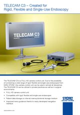 TELECAM C3 – Created for Rigid, Flexible and Single-Use Endoscopy