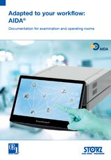 Adapted to your workflow:  – AIDA® Documentation for examination and operating rooms