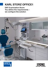 KARL STORZ OFFICE1 – ENT Examination Room – You define the requirements – we configure the solution