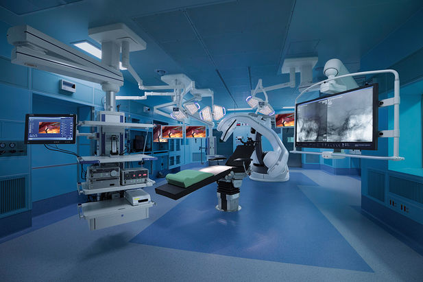 Hybrid-OP Installation am Tungs' Taichung MetroHarbor Hospital in Taiwan