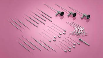 Special instruments and endoscopes for endoscopic middle ear surgery