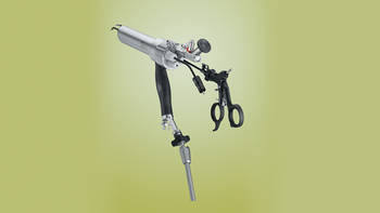TEO® operating rectoscope with rigid attachment