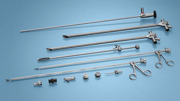 Rigid bronchoscopy instruments for adults