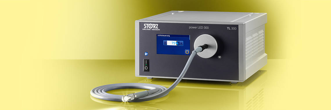 LED light source for endoscopy