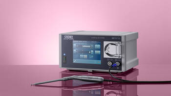 Infinitely variable high-speed handpieces up to 100,000 rpm
