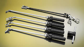 Laparoscopic retractors for colorectal surgery